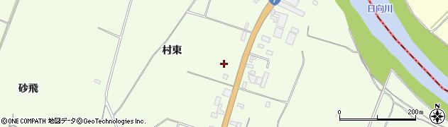 山形県酒田市宮海村東周辺の地図
