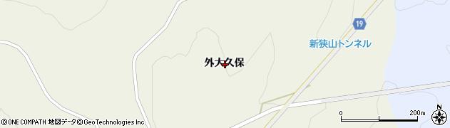 岩手県一関市舞川外大久保周辺の地図