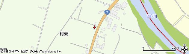 山形県酒田市宮海村東164周辺の地図