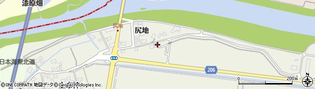 山形県酒田市穂積土手添周辺の地図