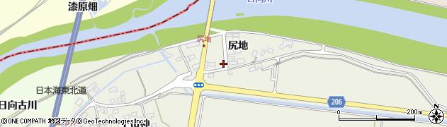 山形県酒田市穂積尻地93周辺の地図