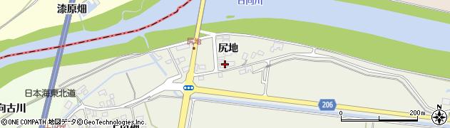山形県酒田市穂積周辺の地図