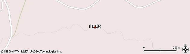 岩手県一関市大東町曽慶山ノ沢周辺の地図