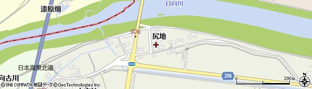 山形県酒田市穂積尻地61周辺の地図