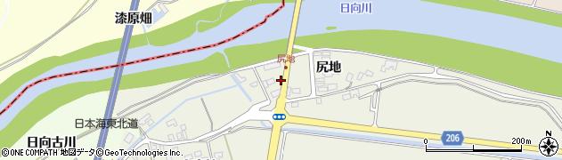 山形県酒田市穂積尻地236周辺の地図