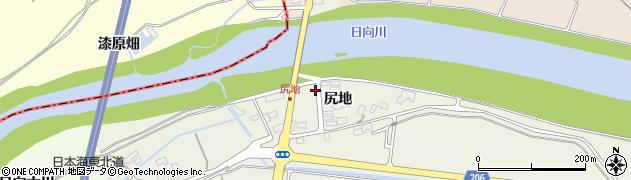 山形県酒田市穂積尻地105周辺の地図