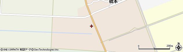 山形県酒田市橋本道下8周辺の地図