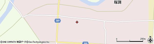 山形県酒田市塚渕東又周辺の地図