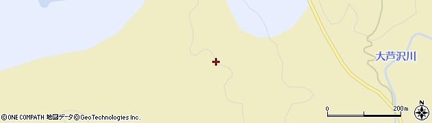 山形県酒田市北青沢小芦沢周辺の地図