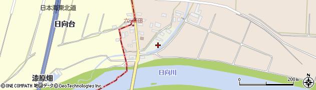 山形県酒田市穂積元屋敷周辺の地図