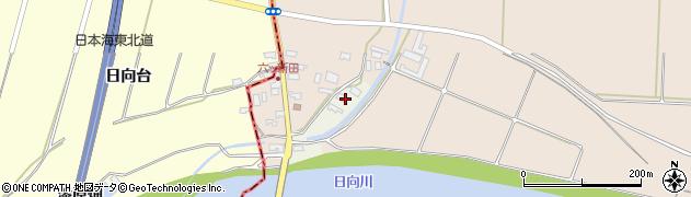 山形県酒田市穂積元屋敷71周辺の地図