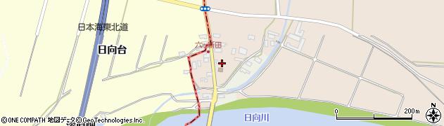 山形県酒田市宮内六ツ新田5周辺の地図