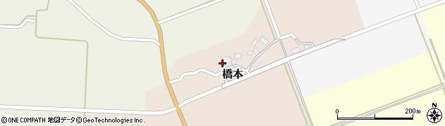 山形県酒田市橋本出シ祢7周辺の地図