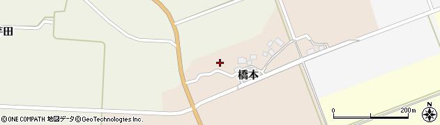 山形県酒田市橋本出シ祢9周辺の地図