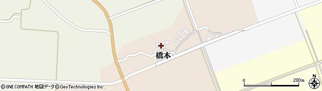 山形県酒田市橋本出シ祢3周辺の地図