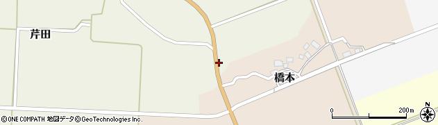 山形県酒田市芹田前川原38周辺の地図