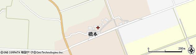 山形県酒田市橋本村上18周辺の地図