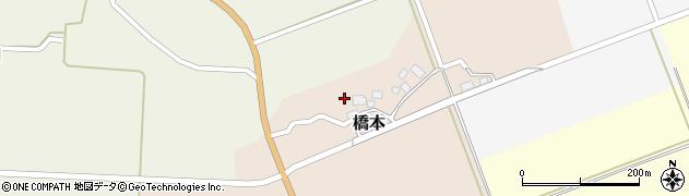 山形県酒田市橋本(出シ祢)周辺の地図