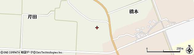 山形県酒田市芹田家ノ下16周辺の地図