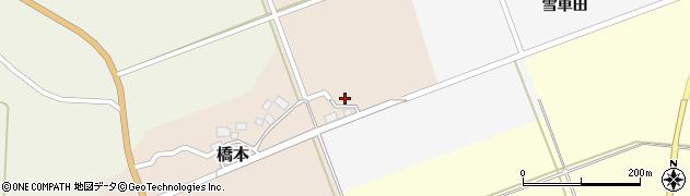 山形県酒田市橋本村上26周辺の地図