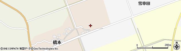 山形県酒田市橋本村上3周辺の地図