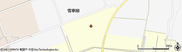 山形県酒田市福山雪車田7周辺の地図