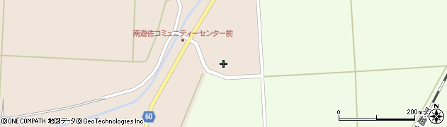 山形県酒田市米島棘田周辺の地図