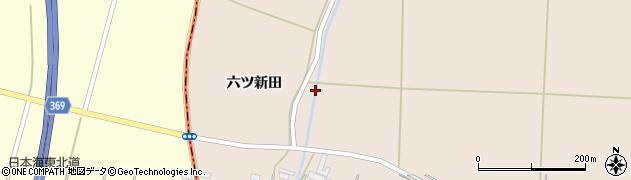 山形県酒田市宮内六ツ新田24周辺の地図