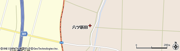 山形県酒田市宮内六ツ新田31周辺の地図