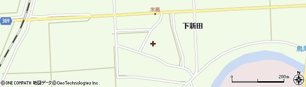 山形県酒田市米島下新田37周辺の地図