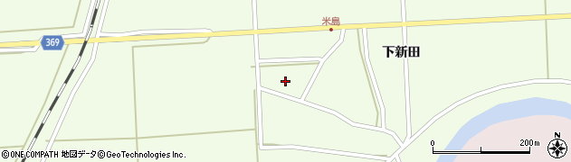 山形県酒田市米島上田中58周辺の地図