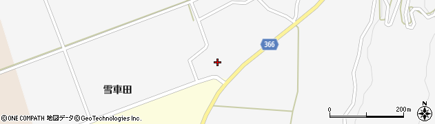 山形県酒田市福山貝ラケ54周辺の地図
