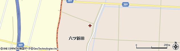 山形県酒田市宮内六ツ新田28周辺の地図
