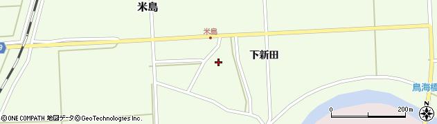 山形県酒田市米島下新田41周辺の地図