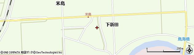 山形県酒田市米島下新田30周辺の地図
