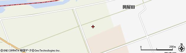 山形県酒田市芹田上川原周辺の地図