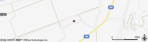 山形県酒田市福山う畑21周辺の地図