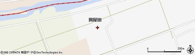 山形県酒田市福山興屋田26周辺の地図