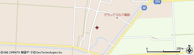 山形県酒田市宮内本楯9周辺の地図