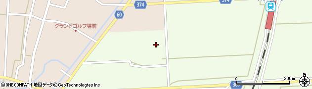 山形県酒田市米島下草田周辺の地図