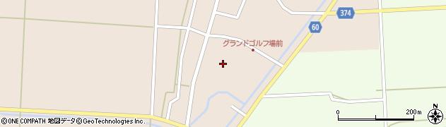 山形県酒田市宮内本楯17周辺の地図