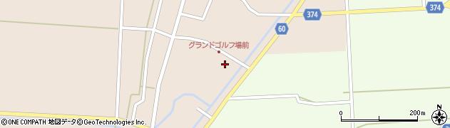 山形県酒田市宮内本楯162周辺の地図
