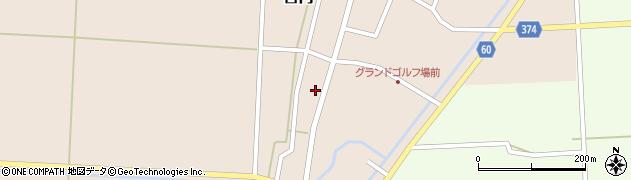 山形県酒田市宮内本楯14周辺の地図