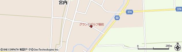 山形県酒田市宮内本楯39周辺の地図