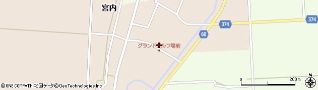 山形県酒田市宮内本楯46周辺の地図