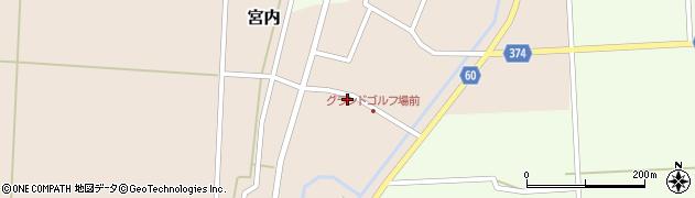 山形県酒田市宮内本楯38周辺の地図