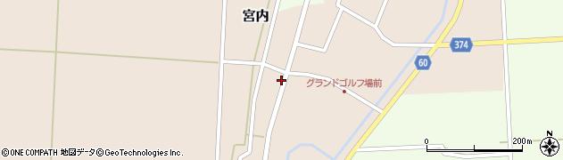 山形県酒田市宮内本楯27周辺の地図