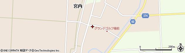 山形県酒田市宮内本楯34周辺の地図