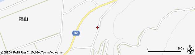 山形県酒田市福山上山本24周辺の地図