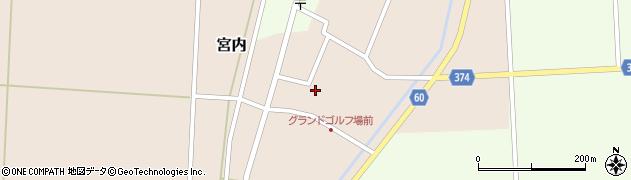 山形県酒田市宮内本楯48周辺の地図